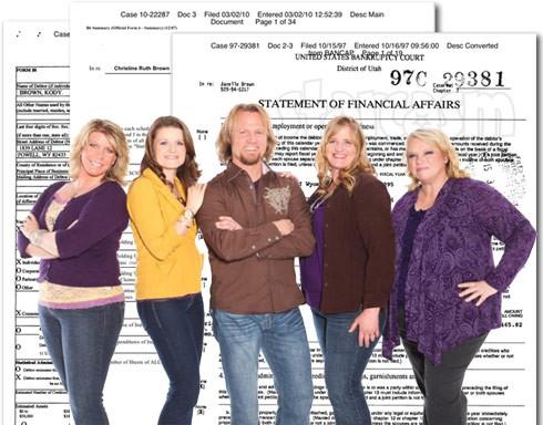 Sister Wives bankruptcy filings