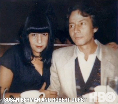 Susan Berman and Robert Durst together