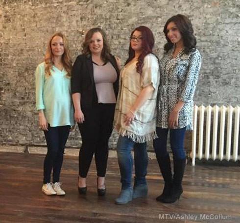Teen Mom OG cast photo 2015 MTV