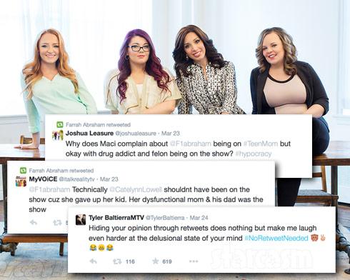 Teen Mom OG cast tweets
