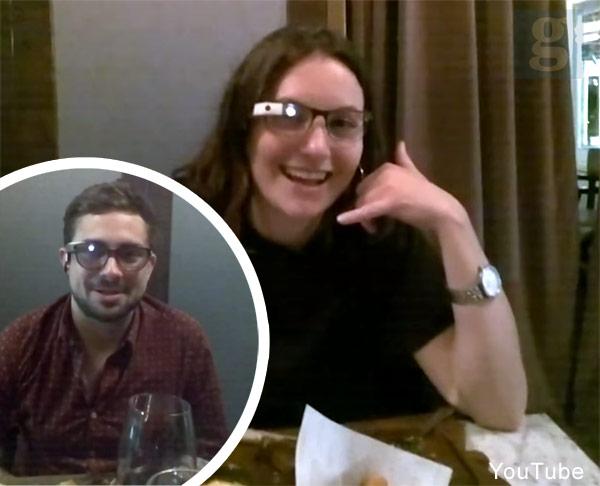 Watch Me Date Google Glass