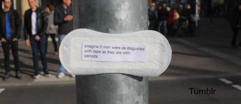 Elone: German Woman Uses Period Pads, Social Media To Spread Feminist Message