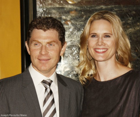 Bobby Flay and Stephanie March Before Divorce