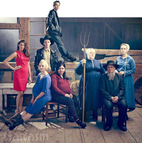 Breaking Amish Return To Amish cast barn