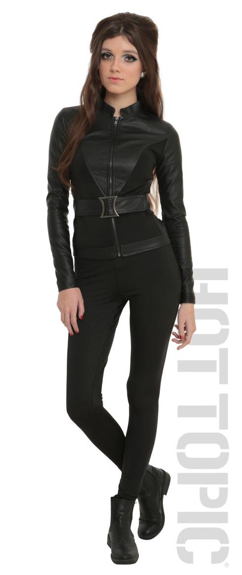 Hot Topic Marvel Black Widow jacket