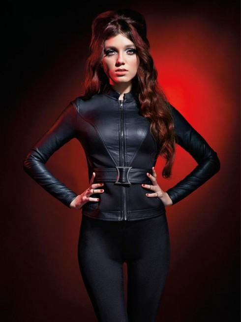 Hot Topic Marvel Avengers Black Widow jacket