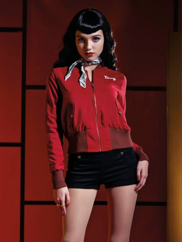 Hot Topic Marvel Stark Industries bomber jacket