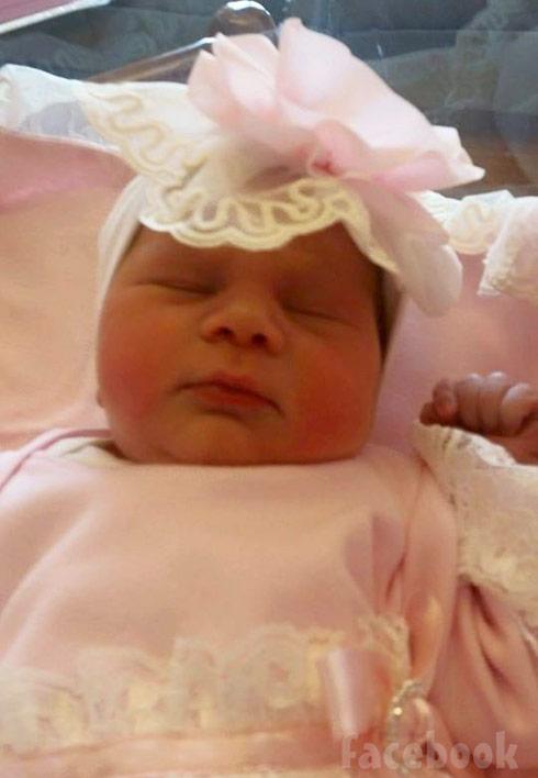 Huey Rocky Stanley's newborn baby daughter
