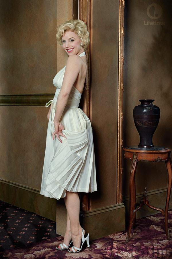 Kelli Garner as Marilyn Monroe in Lifetime miniseries The Secret Life of Marilyn Monroe