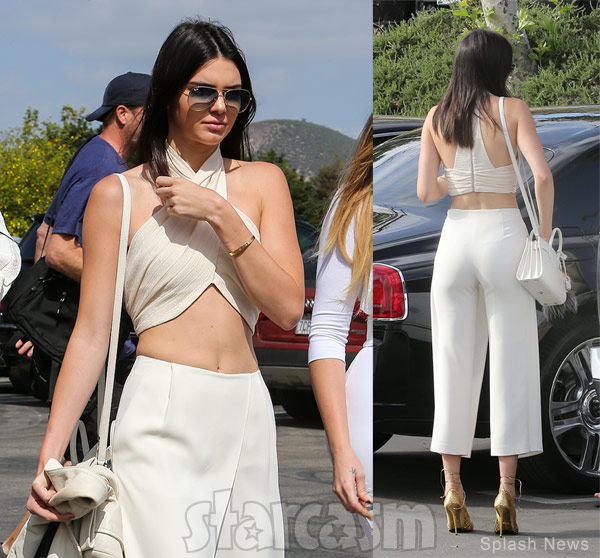 Kendall Jenner Easter Sunday revealing clothes
