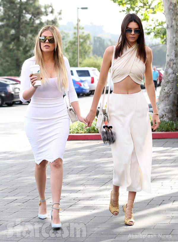 Kendall Jenner Khloe Kardashian Easter