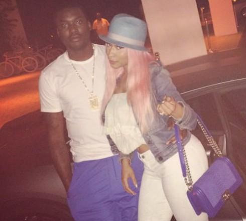 Nicki Minaj engaged to Meek Mill