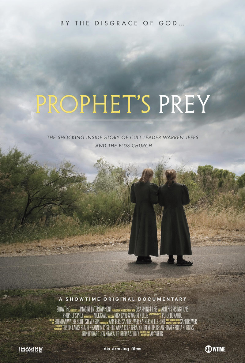 Showtime documentary Prophet's Prey movie poster_800