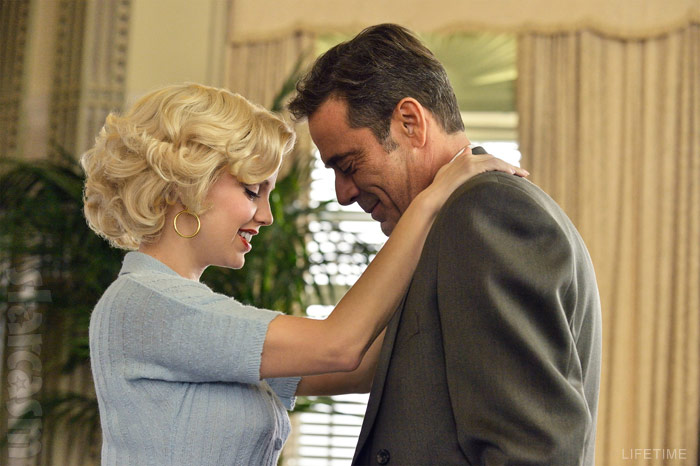 Lifetime miniseries The Secret Life of Marilyn Monroe Joe DiMaggio played by Jeffrey Dean Morgan