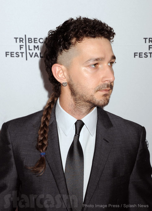 Shia LaBeouf hair