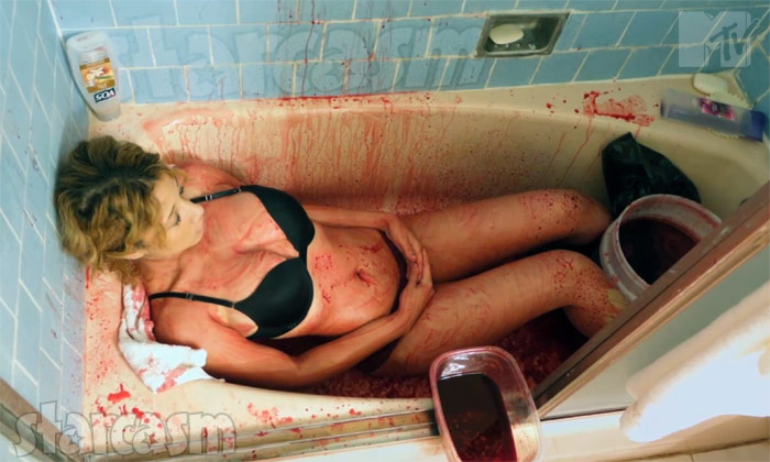 True Life Chanel blood bath pig's blood