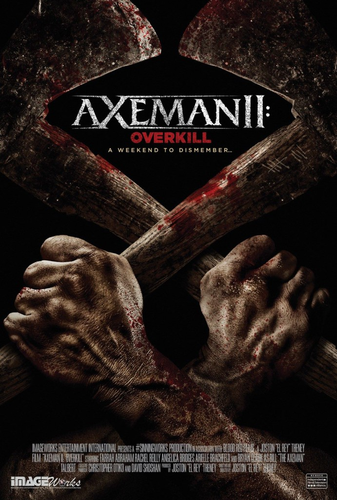 Axeman II Overkill movie poster starring Farrah Abraham and Rachel Reilly