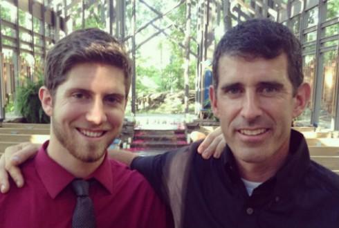 Ben Seewald and Dad Mike Seewald