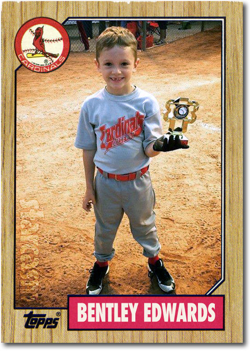 Bentley Edwards baseball card