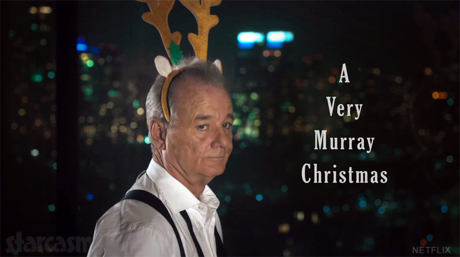 Bill Murray Netflix Christmas Special A Very Murray Christmas