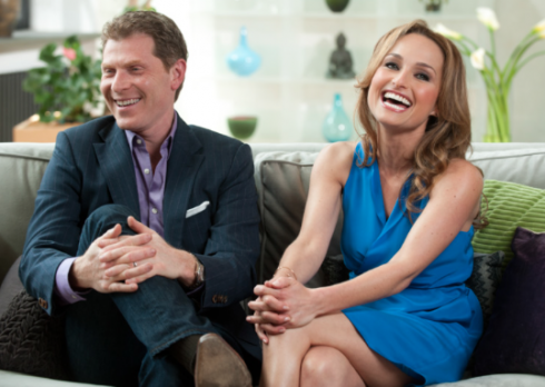 Bobby and Giada Together on TV