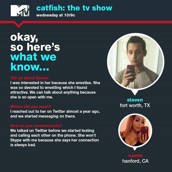 Catfish Samm Steven What We Know