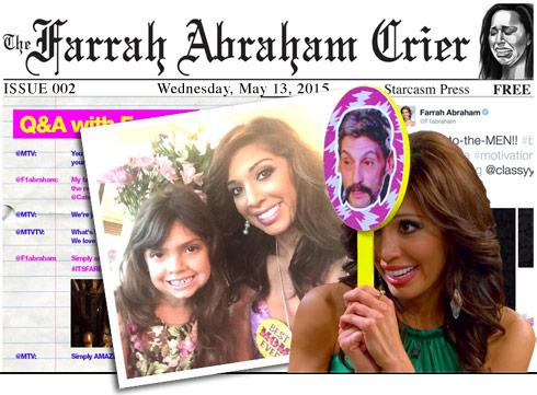 Farrah Abraham Crier Issue 2