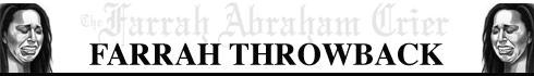 Farrah Abraham Crier throwback