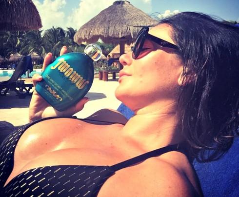 JWoww in Bikini in Mexico