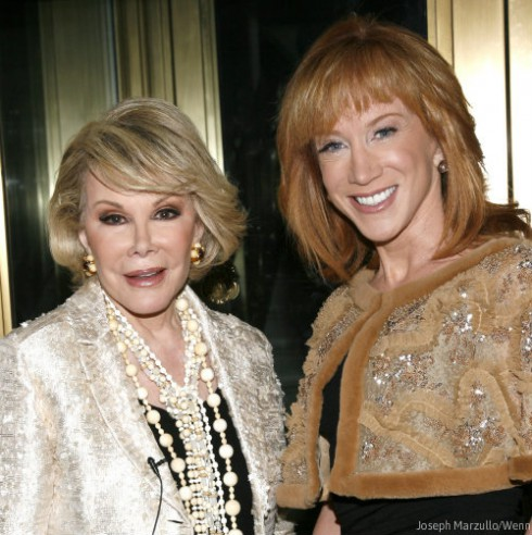 Joan Rivers and Kathy Griffin Together