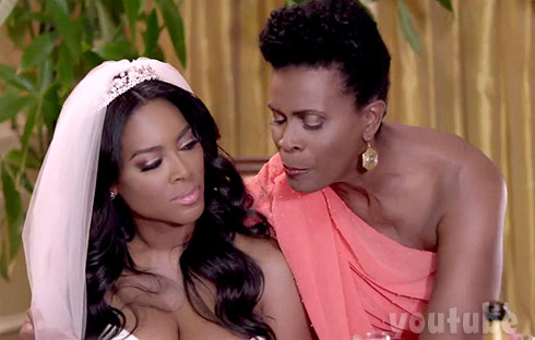 Kenya Moore Janet Hubert together on screen in Life Twirls On