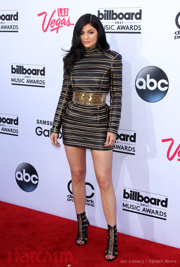 Kylie Jenner Billboard Music Awards 2015 red carpet