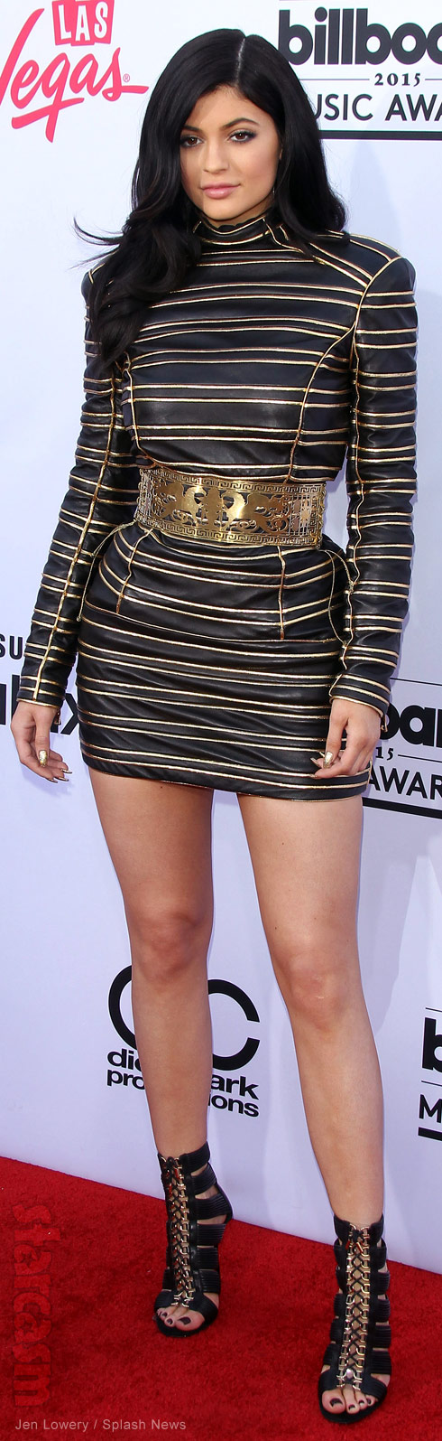 Kylie Jenner 2015 Billboard Music Awards 2015 red carpet full length