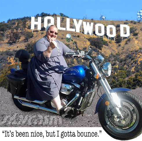 Mama Mary Schmucker Hollywood sign