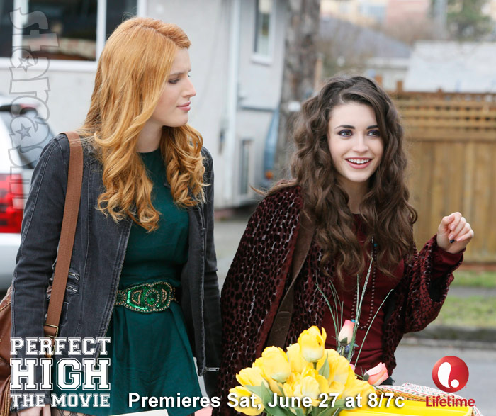 Perfect High Bella Thorne Daniela Bobadilla Lifetime Movie