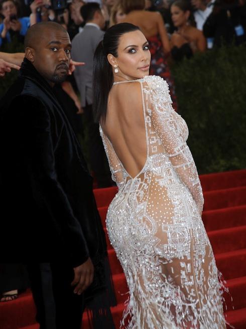 MET Gala 2015 Kim Kardashian
