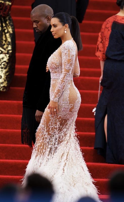 Kim Kardashian Met Gala - 'China: Through The Looking Glass'