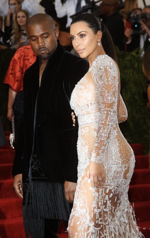 Kanye West Kim Kardashian MET Gala 2015 'China: Through The Looking Glass' - Arrivals