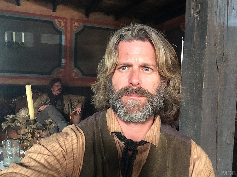 Slade Smiley acting in Texas Rising miniseries on History