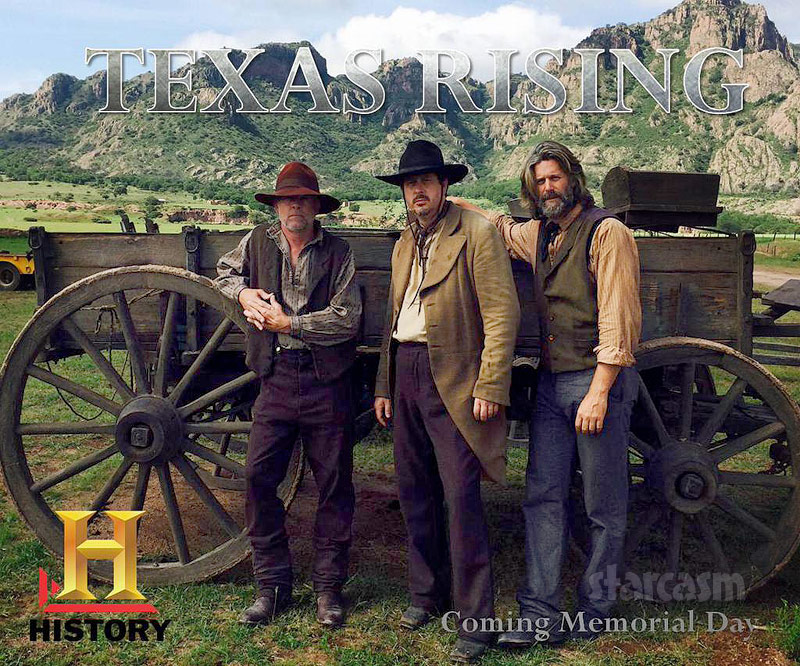 History Channel miniseries Texas Rising Slade Smiley acting