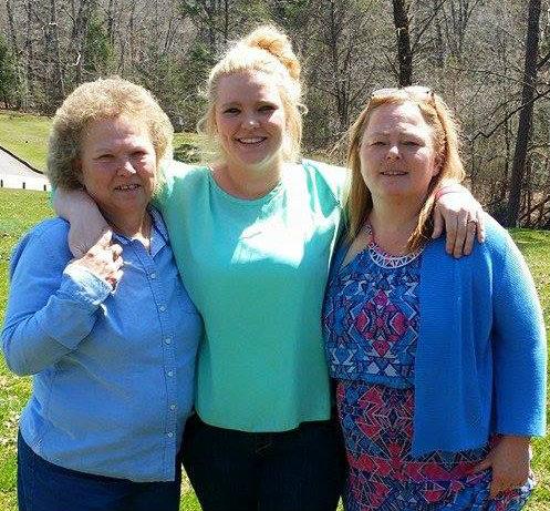 Leah Calvert's family feuds on Facebook after Grandma brawls