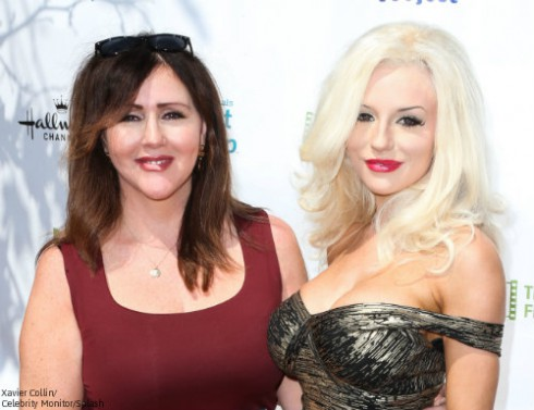 Courtney Stodden and Mom Krista Keller
