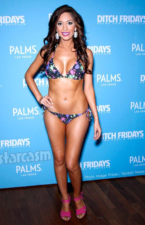 Farrah Abraham sexy bikini 2015