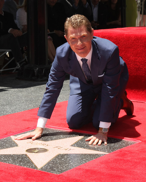 Bobby Flay honored on the Hollywood Walk of Fame in Los Angeles Featuring: Bobby Flay Where: Los Angeles, California, United States When: 02 Jun 2015 Credit: Nicky Nelson/WENN.com