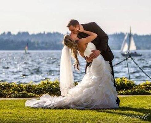 Deadliest Catch Jake Anderson wedding photo