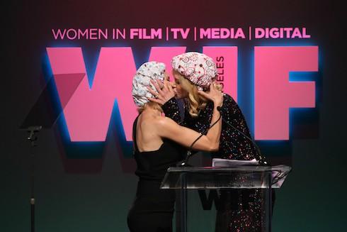 Women In Film 2015 Crystal + Lucy Awards - Show at the Hyatt Regency Century Plaza Featuring: Naomi Watts, Nicole Kidman Where: Los Angeles, California, United States When: 16 Jun 2015 Credit: FayesVision/WENN.com