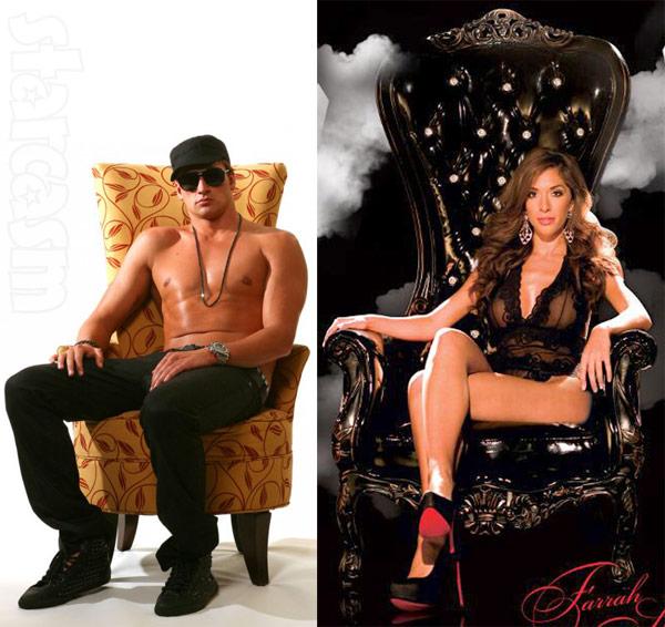 Ryan Lochte Farrah Abraham thrones