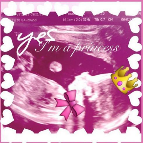 Vee Torres Baby Reveal