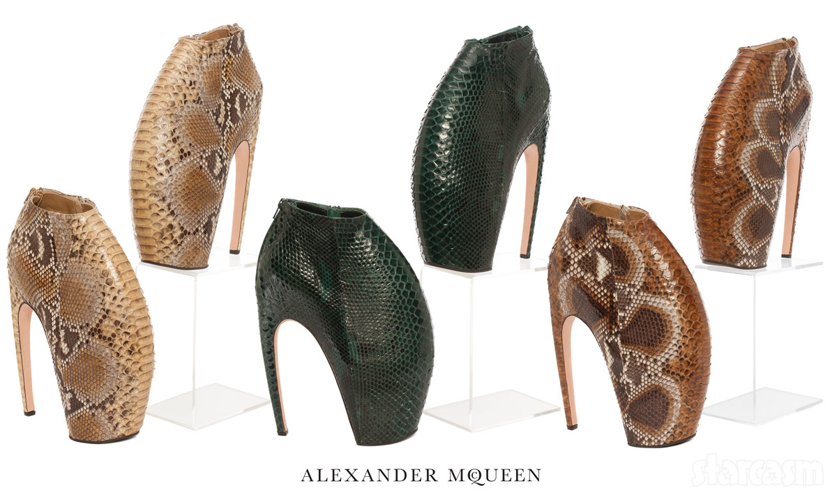 Lady Gaga's Alexander McQueen armadillo boots from Christie's Auction