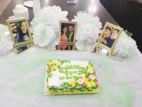 Amy Duggar Engagement Cake